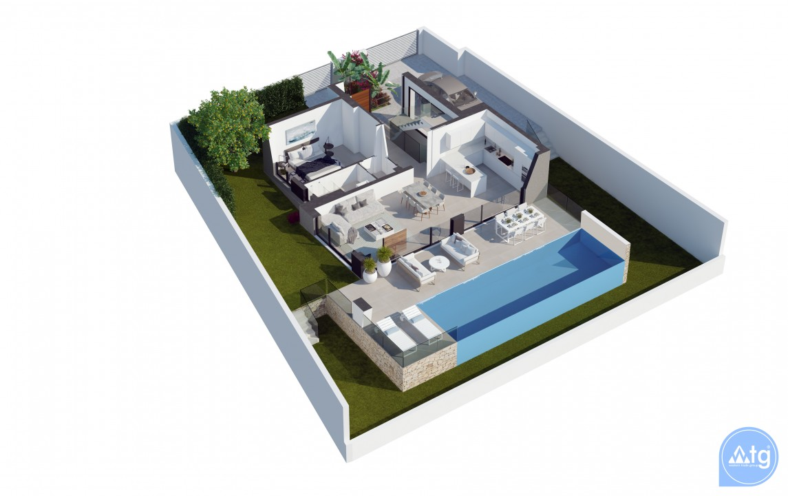 3 bedroom Villa in Villamartin  - LH6498 - 8