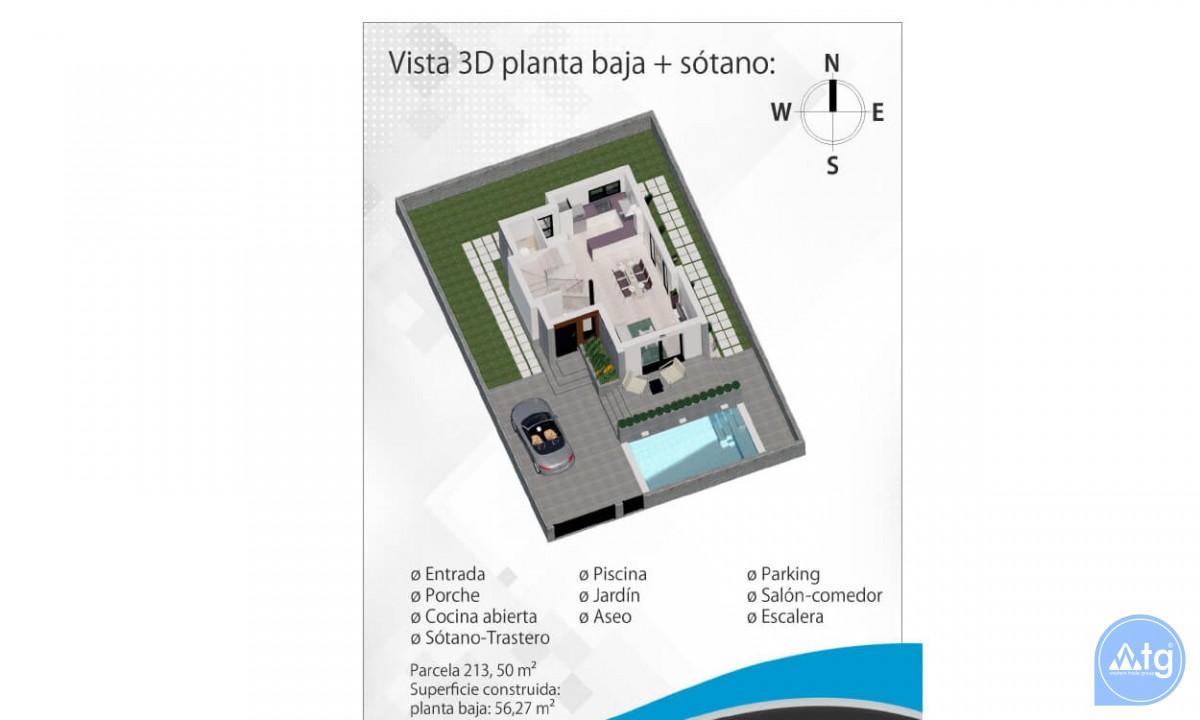 3 bedroom Villa in Ciudad Quesada  - CM5302 - 41