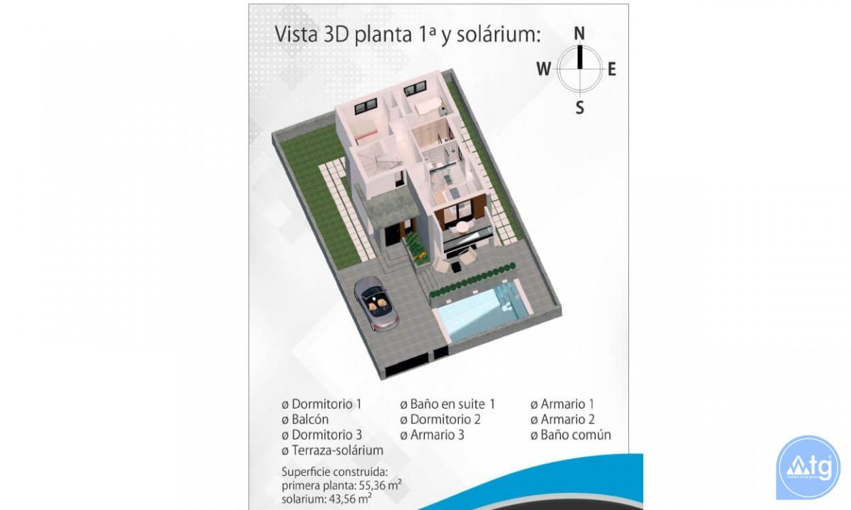 Beautiful Villa in Ciudad Quesada, 3 bedrooms, area 165 m<sup>2</sup> - CM5302 - 42