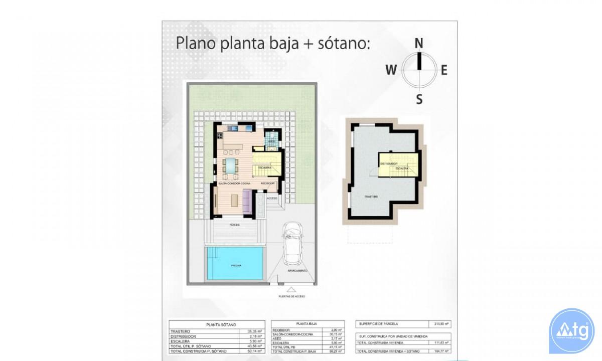 Beautiful Villa in Ciudad Quesada, 3 bedrooms, area 165 m<sup>2</sup> - CM5302 - 43