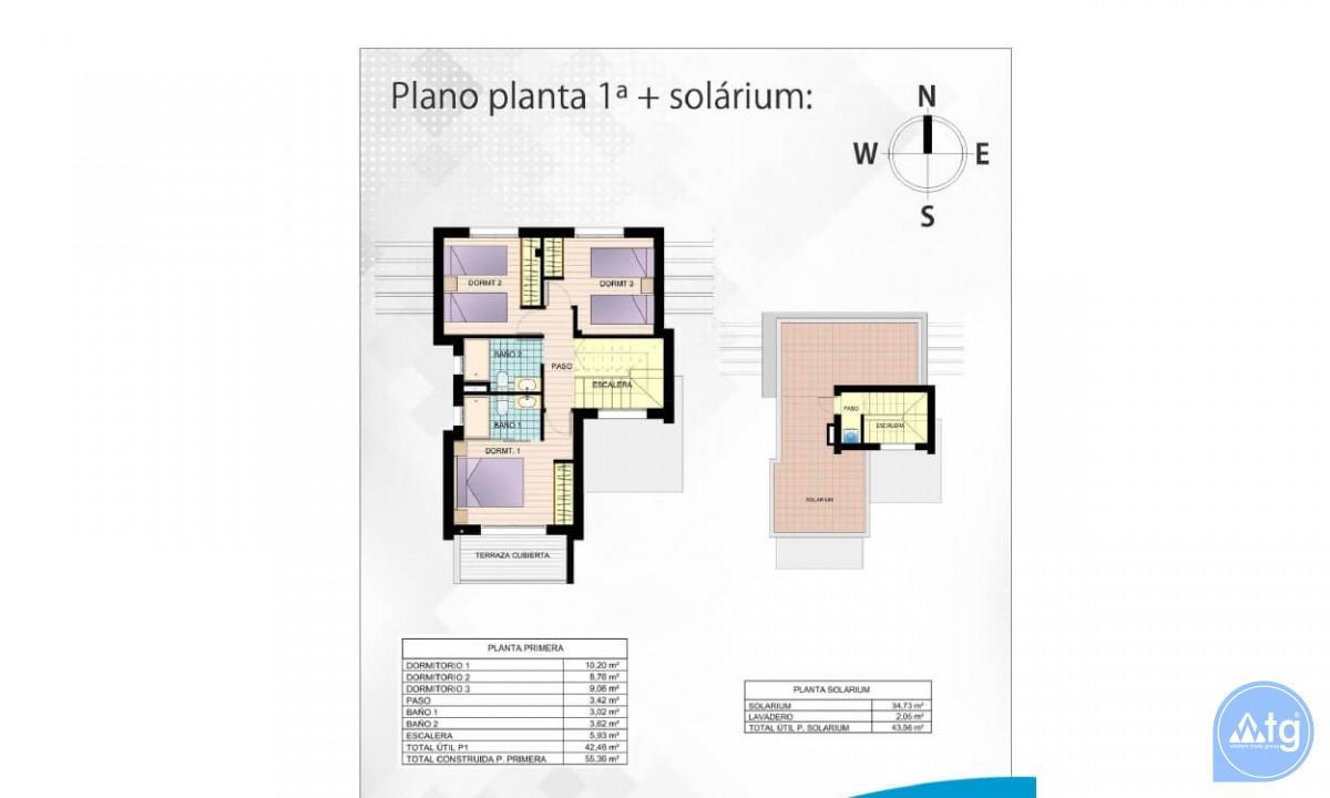 Beautiful Villa in Ciudad Quesada, 3 bedrooms, area 165 m<sup>2</sup> - CM5302 - 44