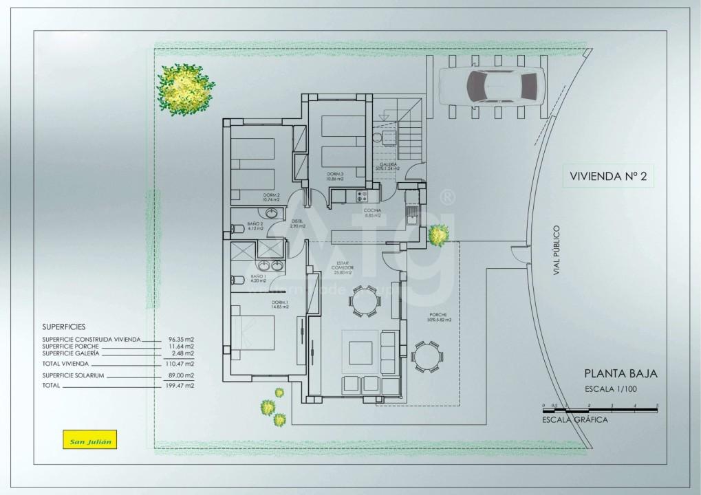 3 bedroom Villa in Lorca - AGI8436 - 33