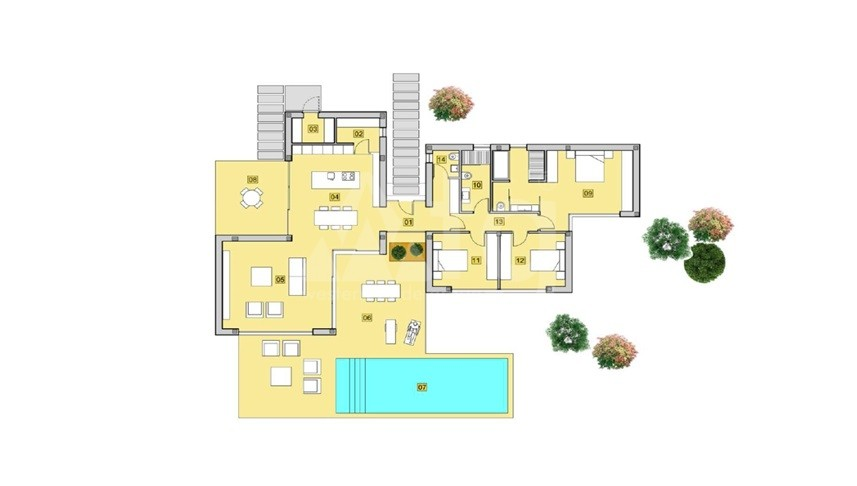 2 bedroom Villa in Los Alcázares - DS7372 - 12