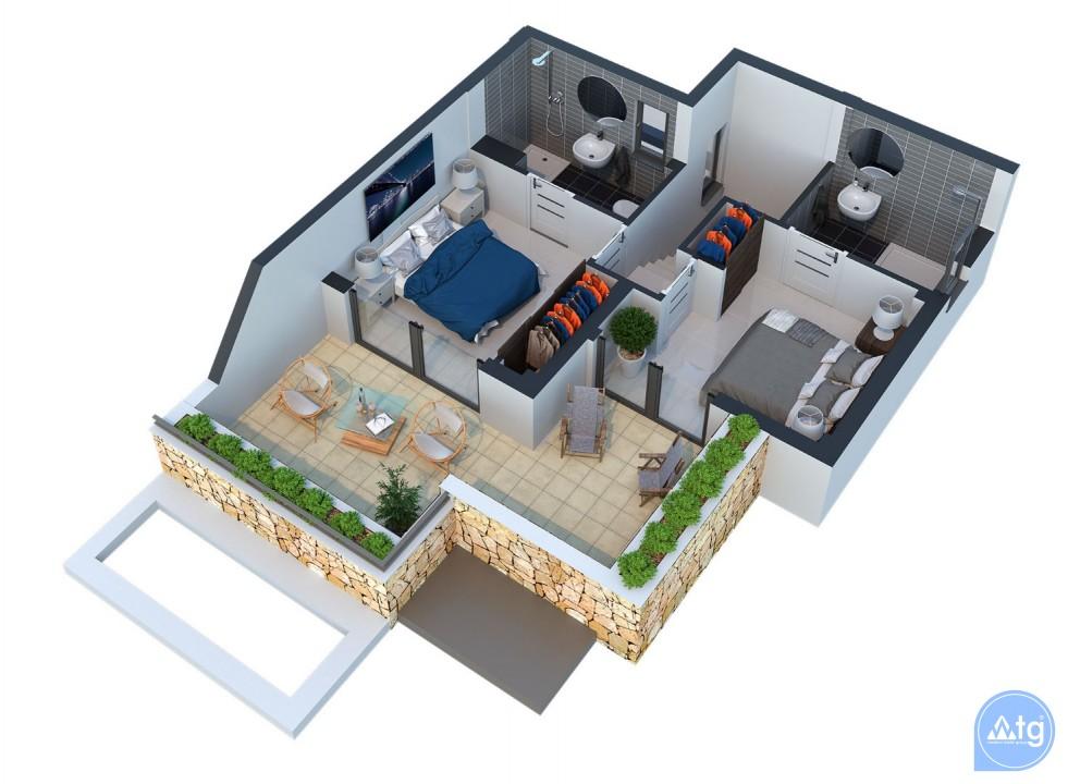 2 bedroom Villa in Torrevieja  - AG4258 - 12