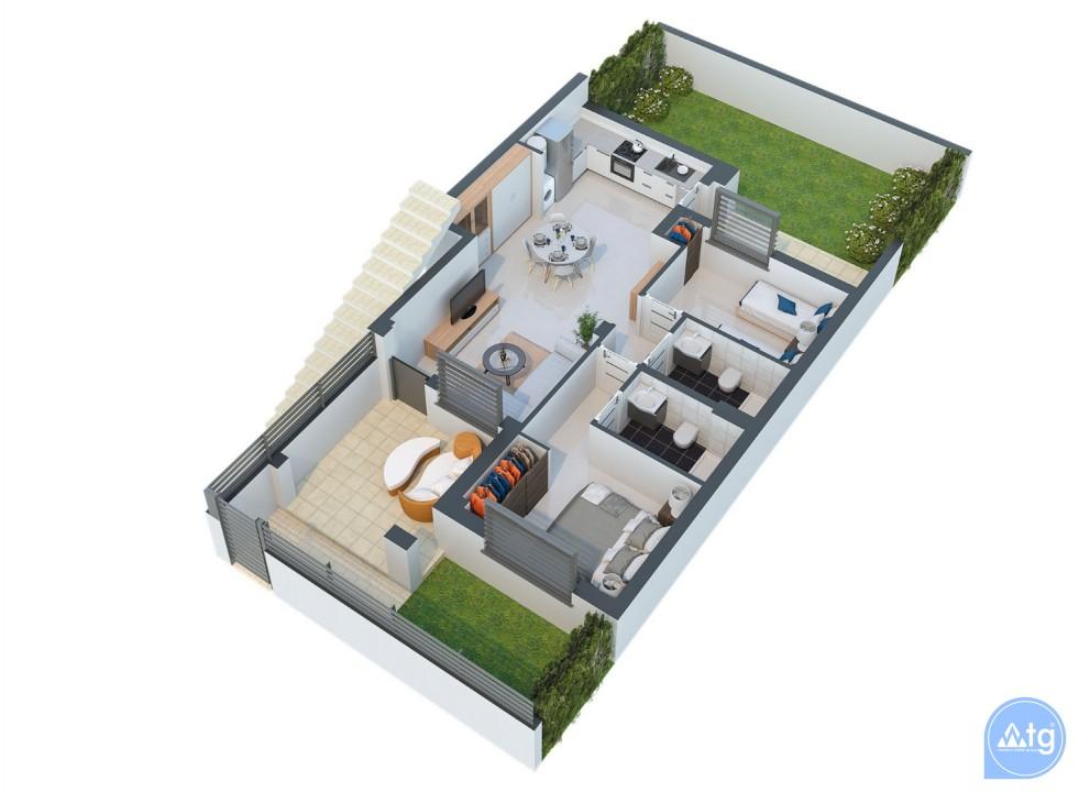 2 bedroom Villa in Torrevieja  - AG4258 - 14