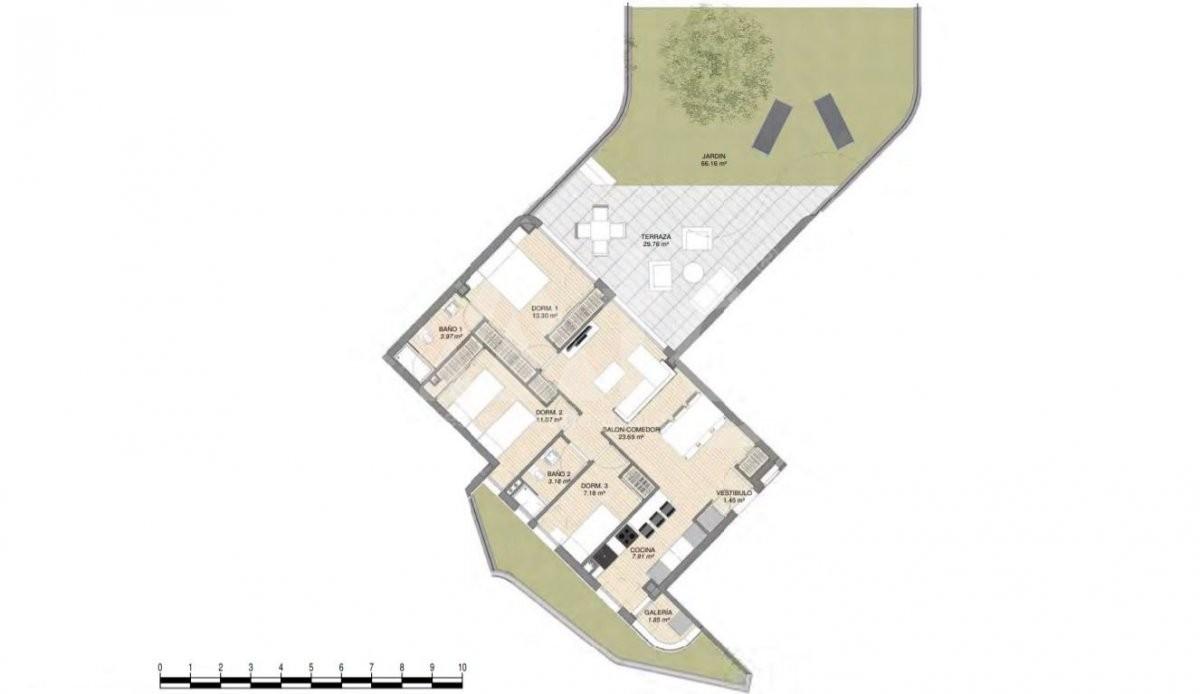 3 bedroom Villa in Rojales  - ERF115328 - 9