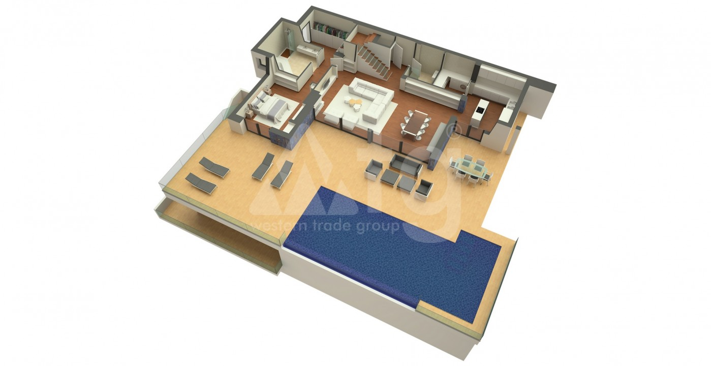 Villa de 3 chambres à Cumbre del Sol - VAP119749 - 6