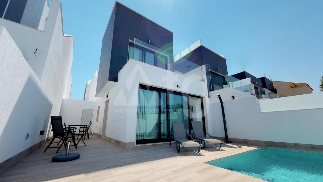 Villa de 3 chambres à San Pedro del Pinatar - GU8208 - 2