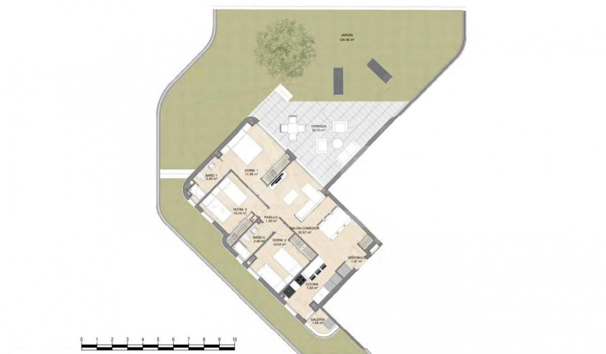 Villa de 3 chambres à Rojales - ERF115328 - 6