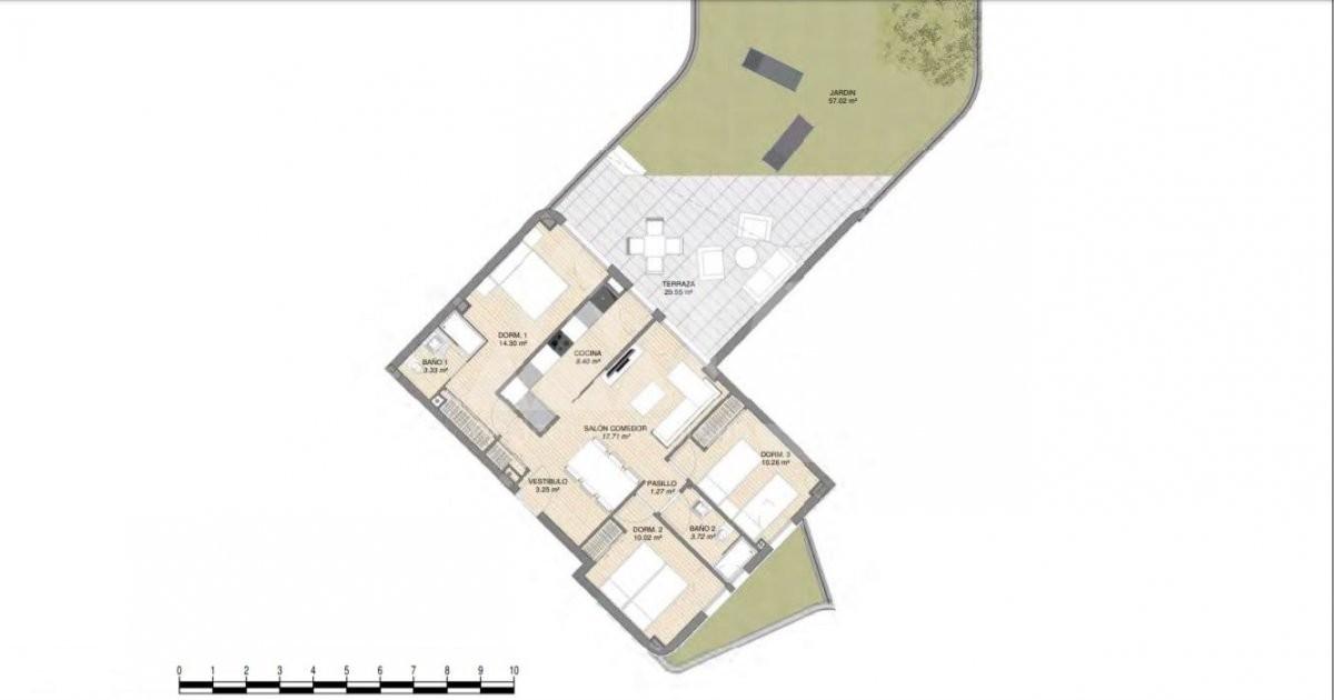 Villa de 3 chambres à Rojales - ERF115328 - 7