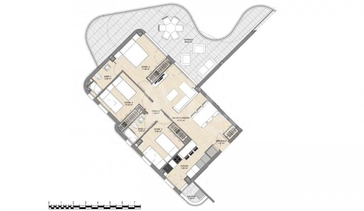 Villa de 3 chambres à Rojales - ERF115328 - 8