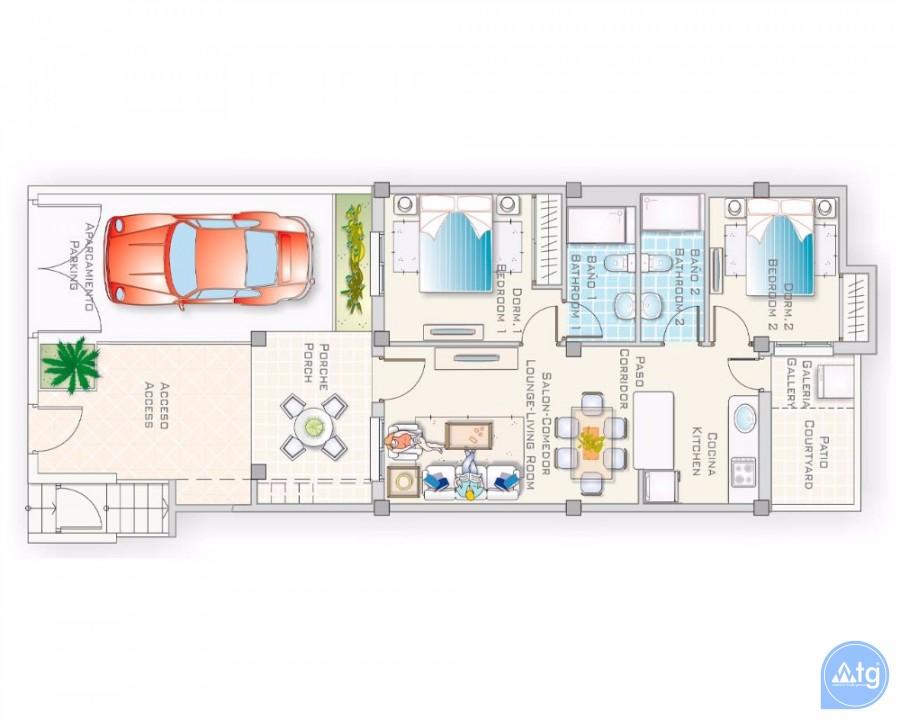Villa de 3 chambres à Los Montesinos - PP7664 - 23