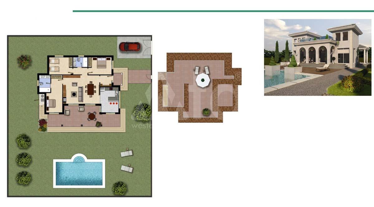 Villa de 3 chambres à Ciudad Quesada - ER8337 - 15