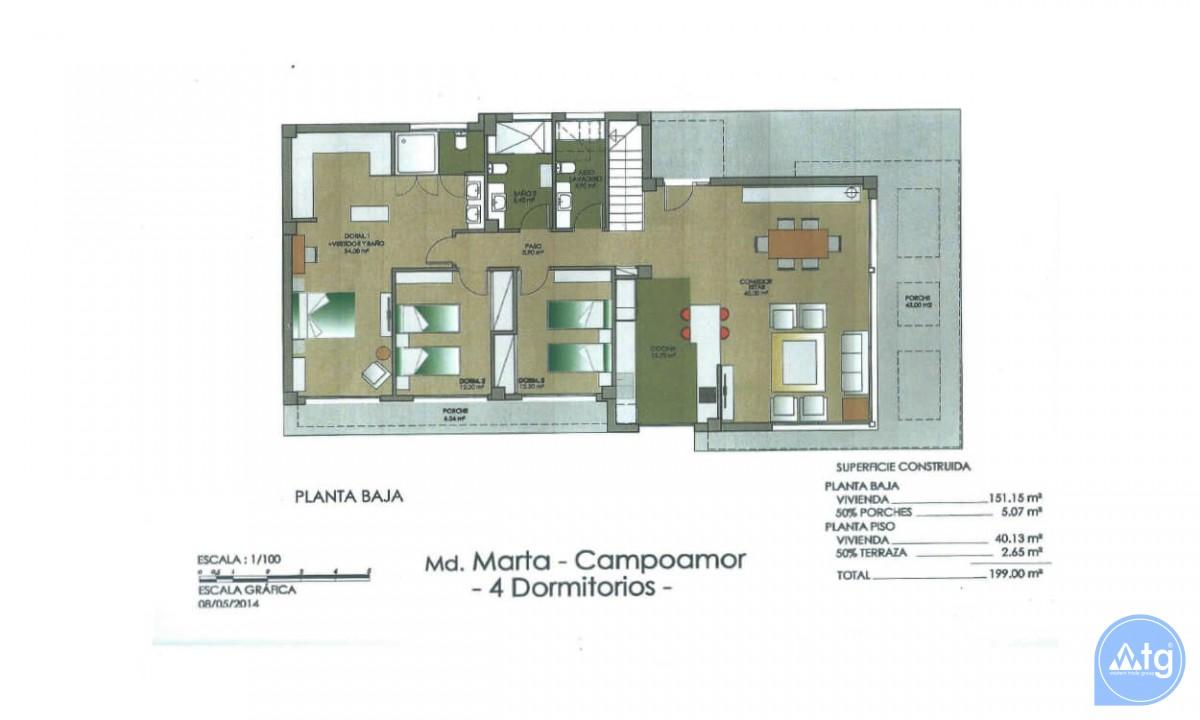 Villa de 4 chambres à Dehesa de Campoamor - AGI8512 - 41