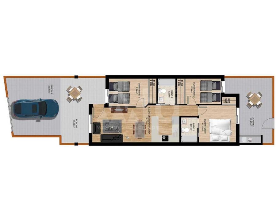 Bungalow de 2 chambres à Algorfa - PT8104 - 18
