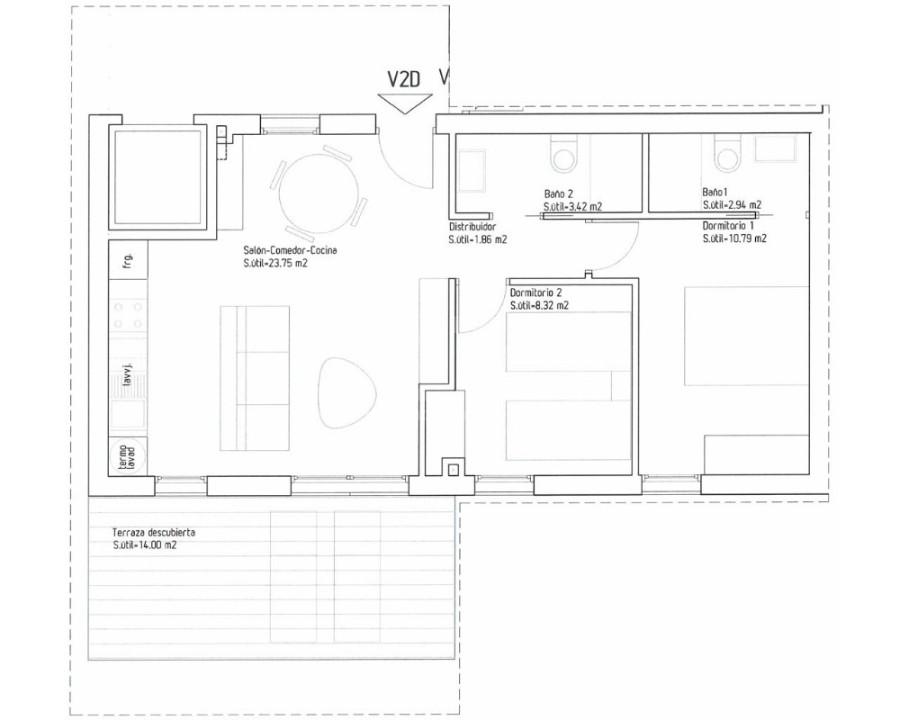 Bungalow de 3 chambres à Guardamar del Segura - CN7830 - 7
