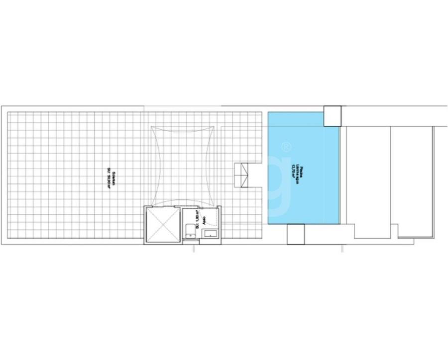 2 bedroom Bungalow in Algorfa - PT8112 - 16
