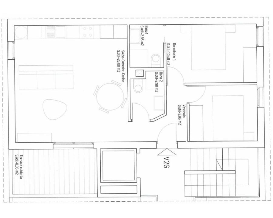 2 bedroom Bungalow in Guardamar del Segura - CN7833 - 7
