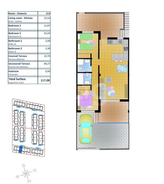 2 bedroom Bungalow in Pilar de la Horadada  - LMR115215 - 27