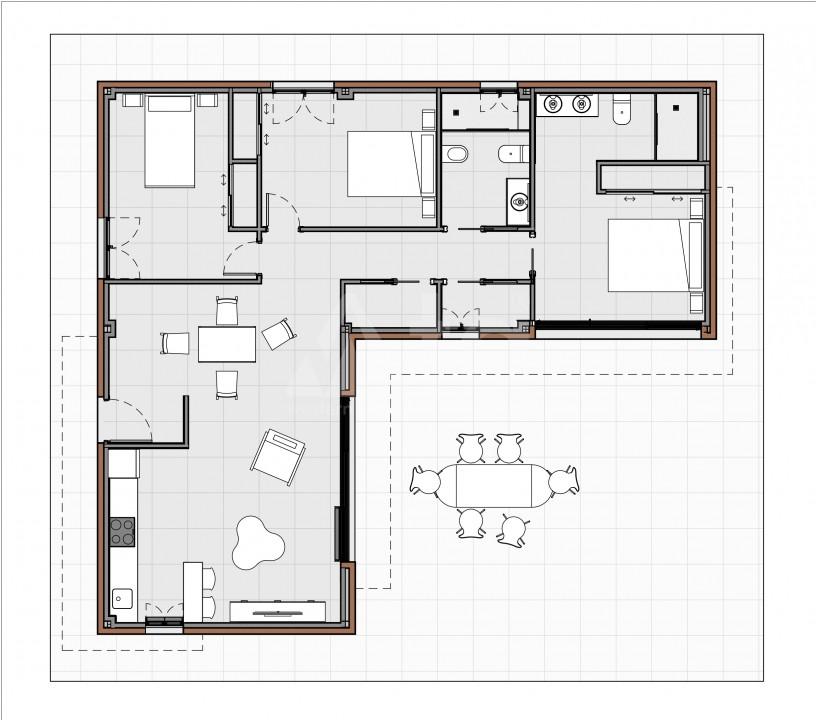 2 bedroom Bungalow in Torrevieja  - US6850 - 8