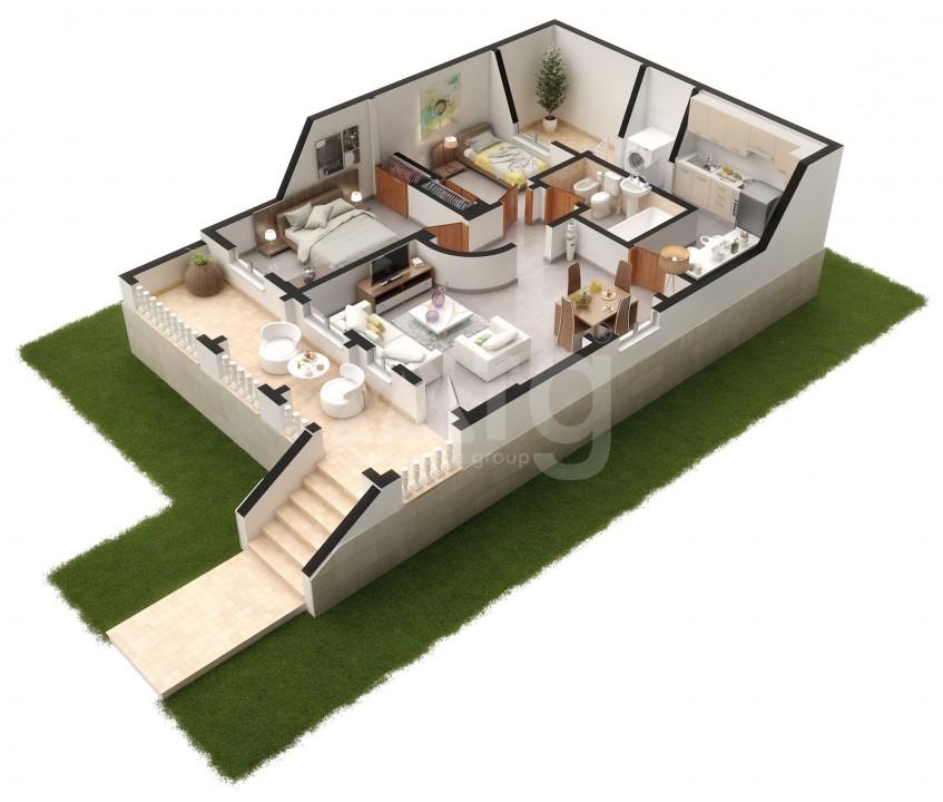 Bungalow de 2 chambres à Polop - SUN6269 - 17