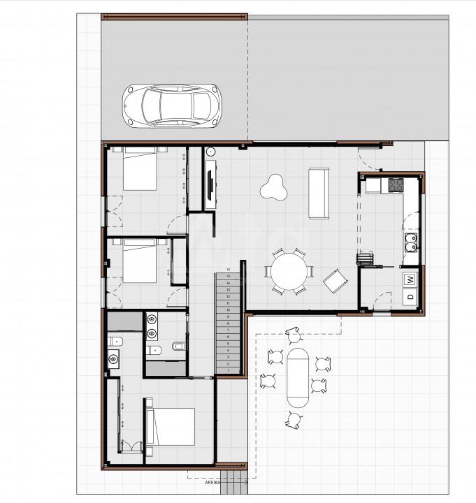 Bungalow de 2 chambres à Torrevieja - US6853 - 8