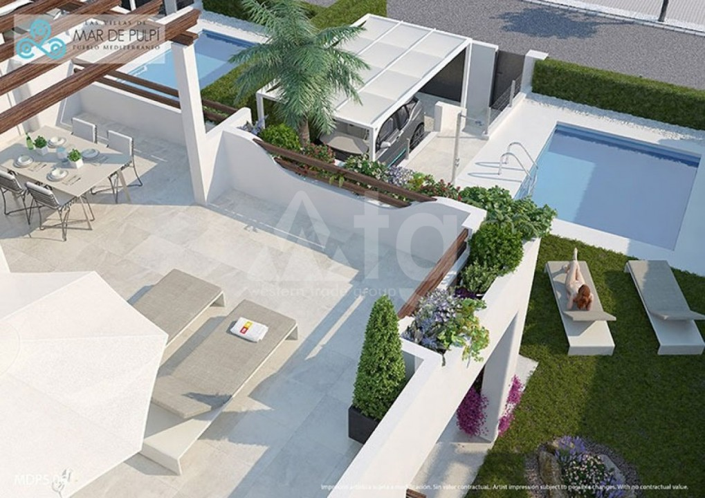 2 bedroom Apartment in La Manga  - GRI115293 - 9
