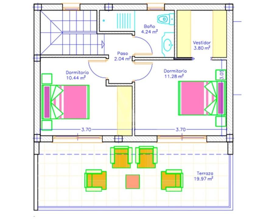 2 bedroom Apartment in Los Altos - DI8164 - 13