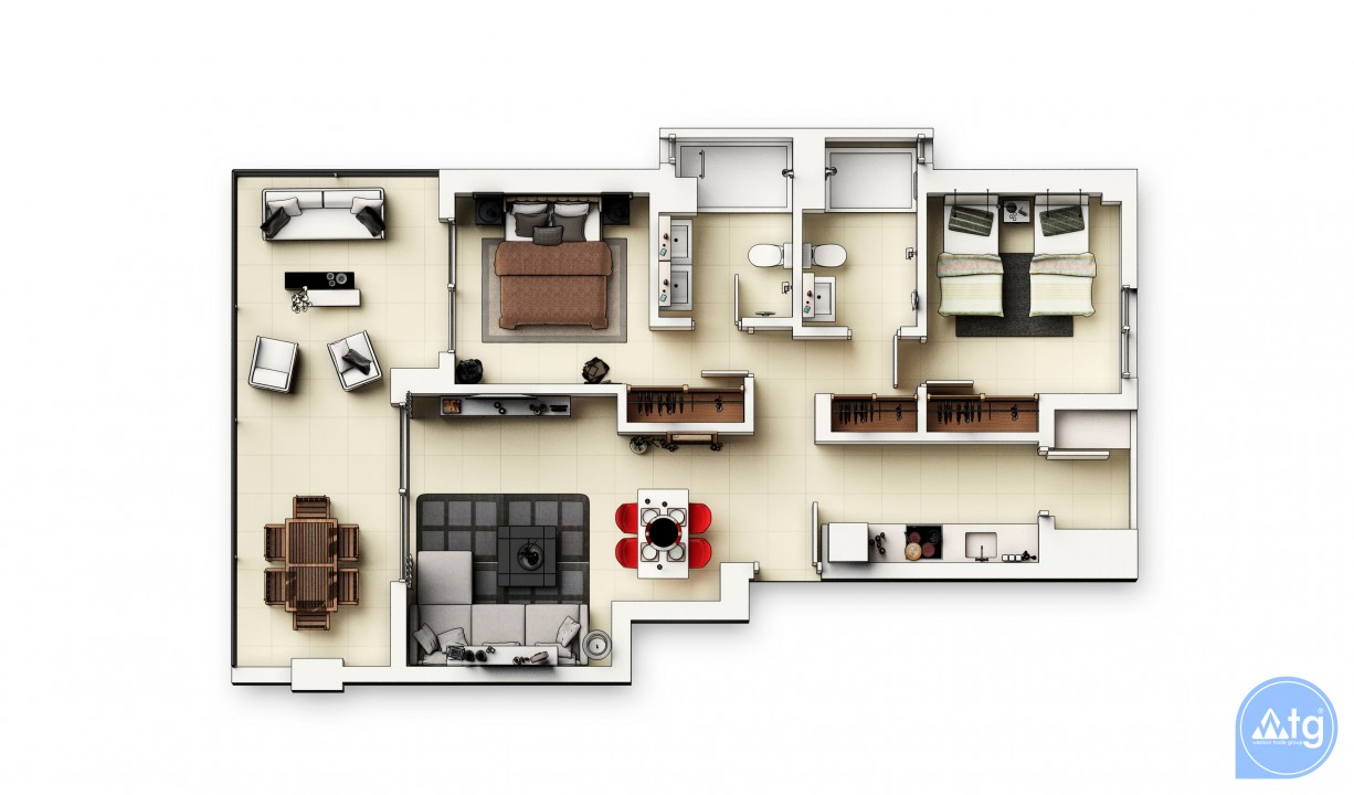 2 bedroom Apartment in Punta Prima  - GD113889 - 45