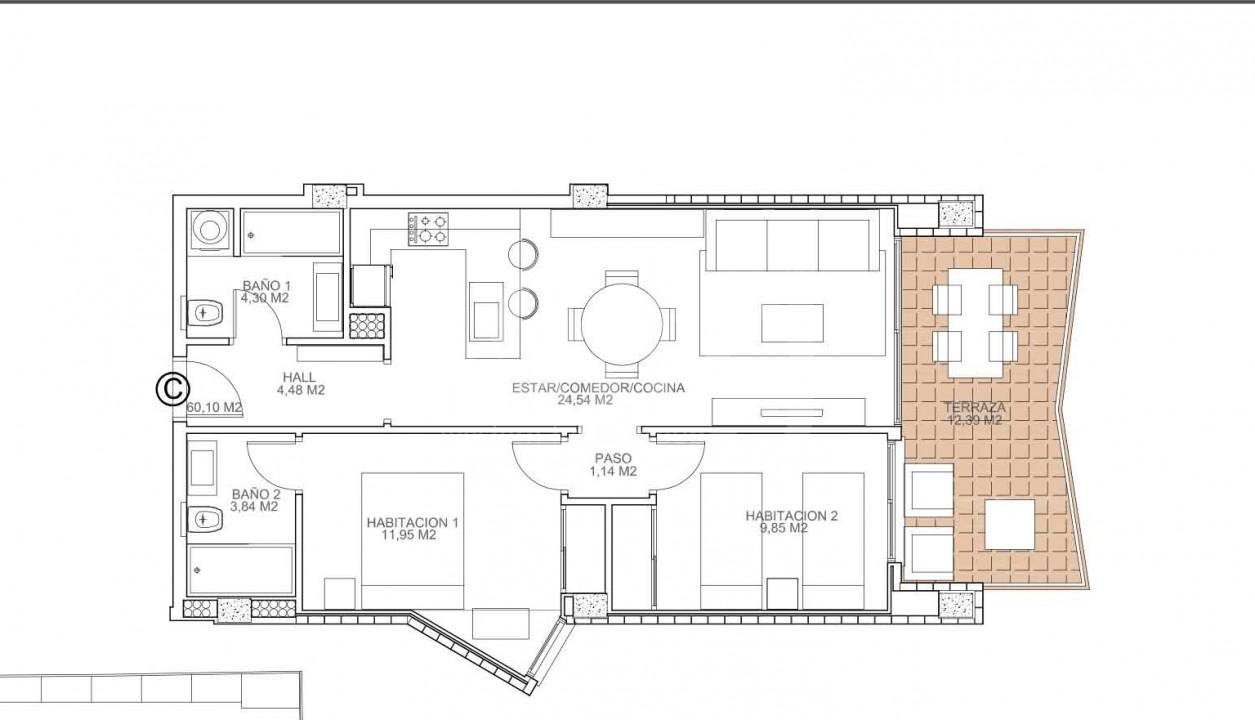 2 bedroom Apartment in Torrevieja  - VA114765 - 6