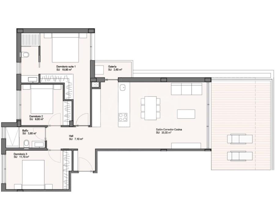 2 bedroom Apartment in Torrevieja - W8213 - 11