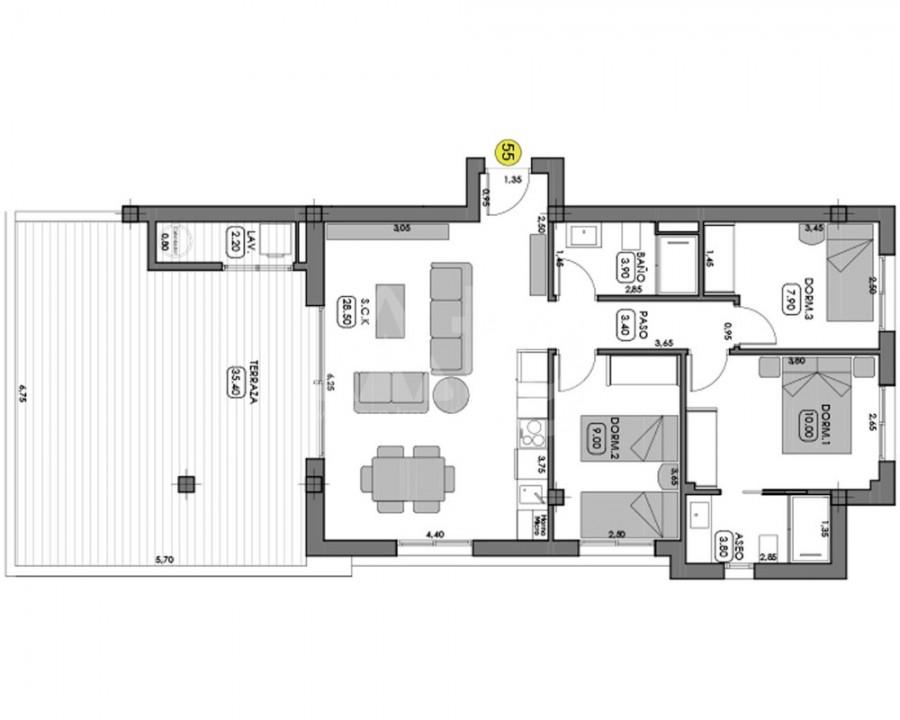 3 bedroom Apartment in Villamartin - NS8270 - 4