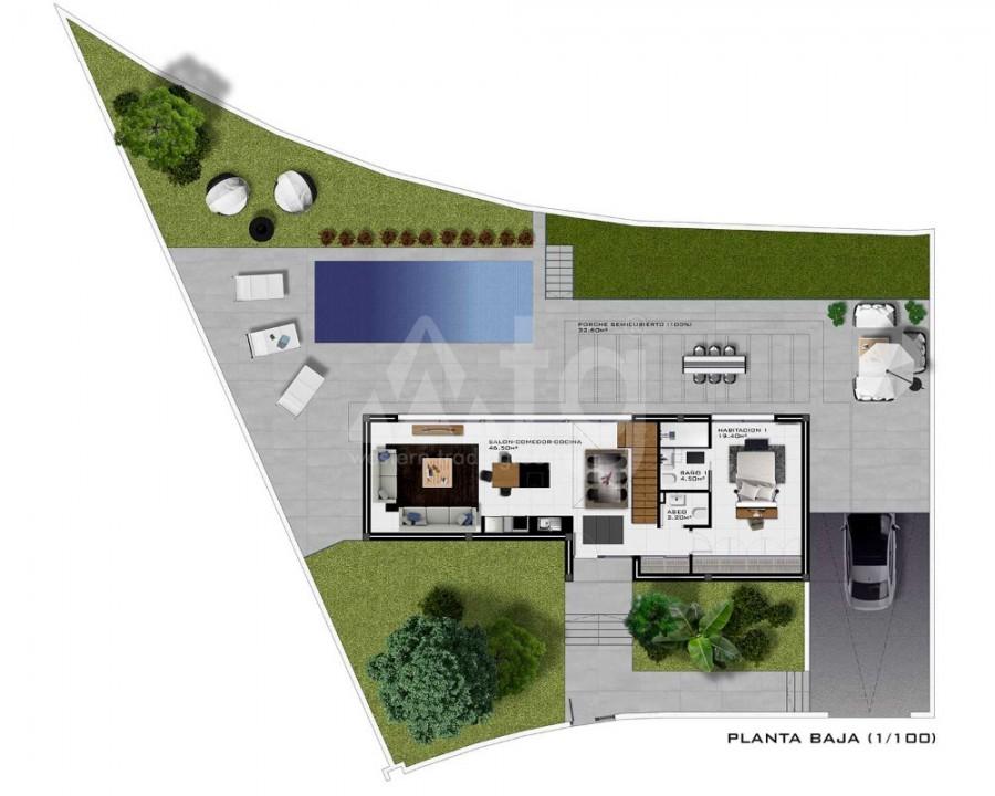 3 bedroom Apartment in San Pedro del Pinatar  - OK8077 - 3