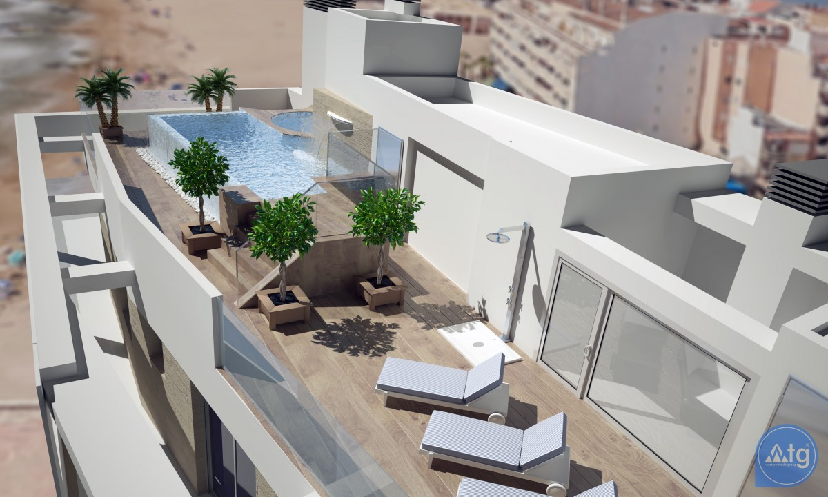 3 bedroom Apartment in Torrevieja  - AG9557 - 2