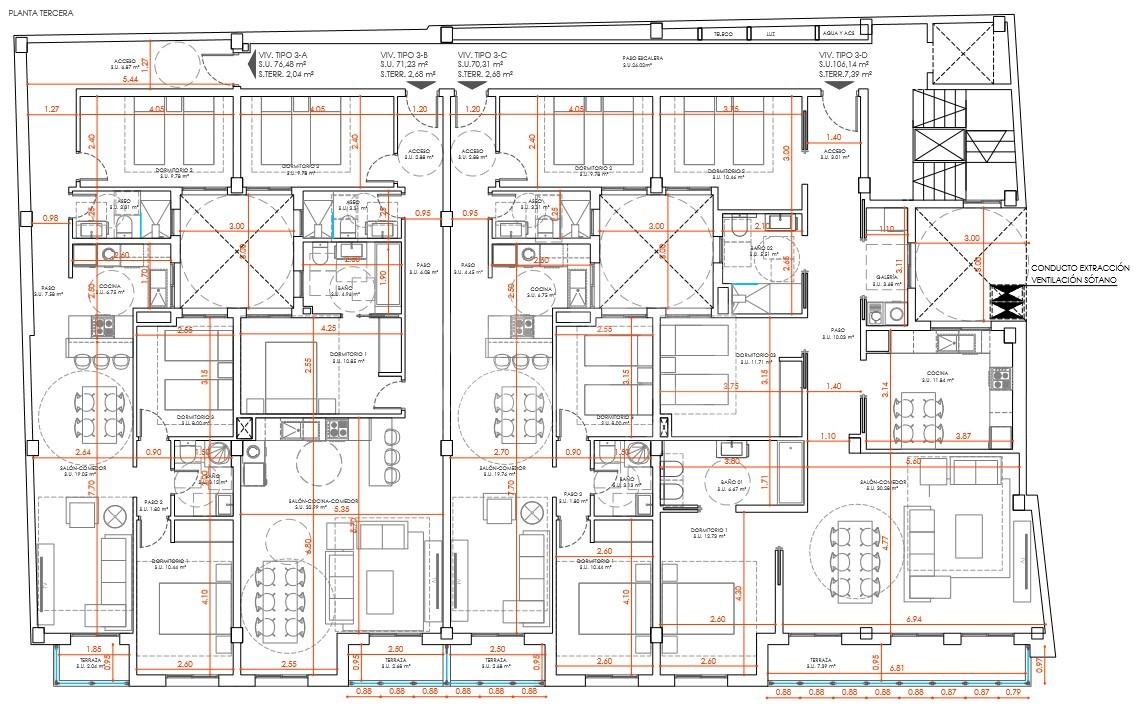 3 bedroom Apartment in Torrevieja - EG1501 - 44
