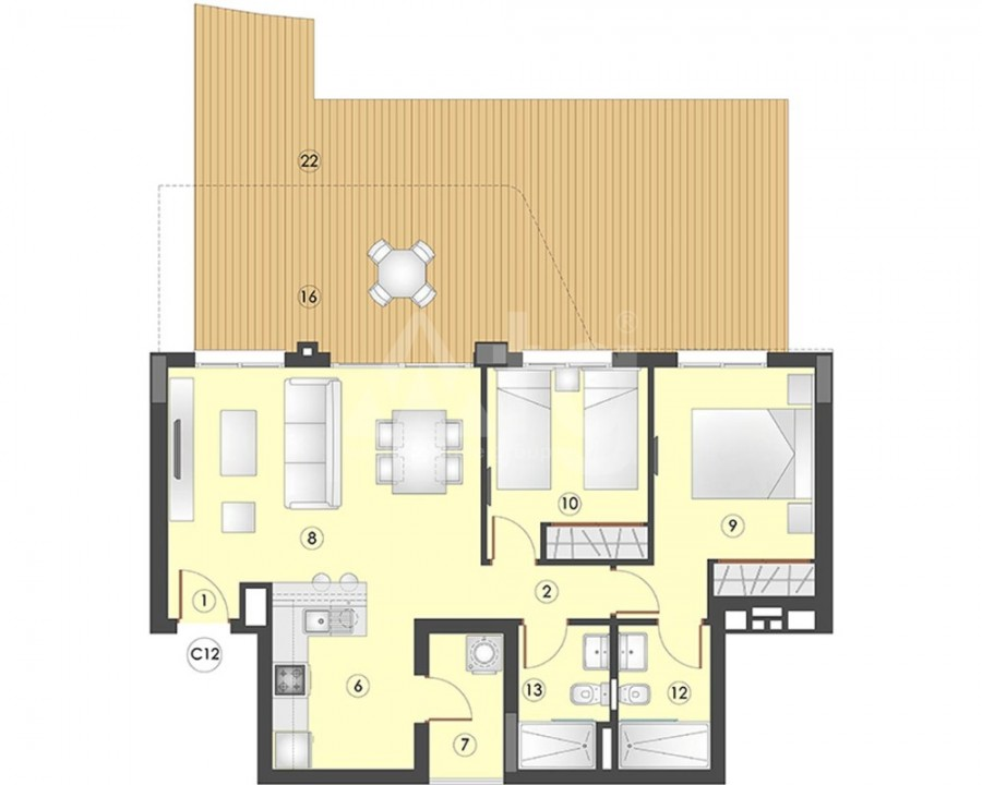 3 bedroom Villa in Bigastro - SUN8189 - 6