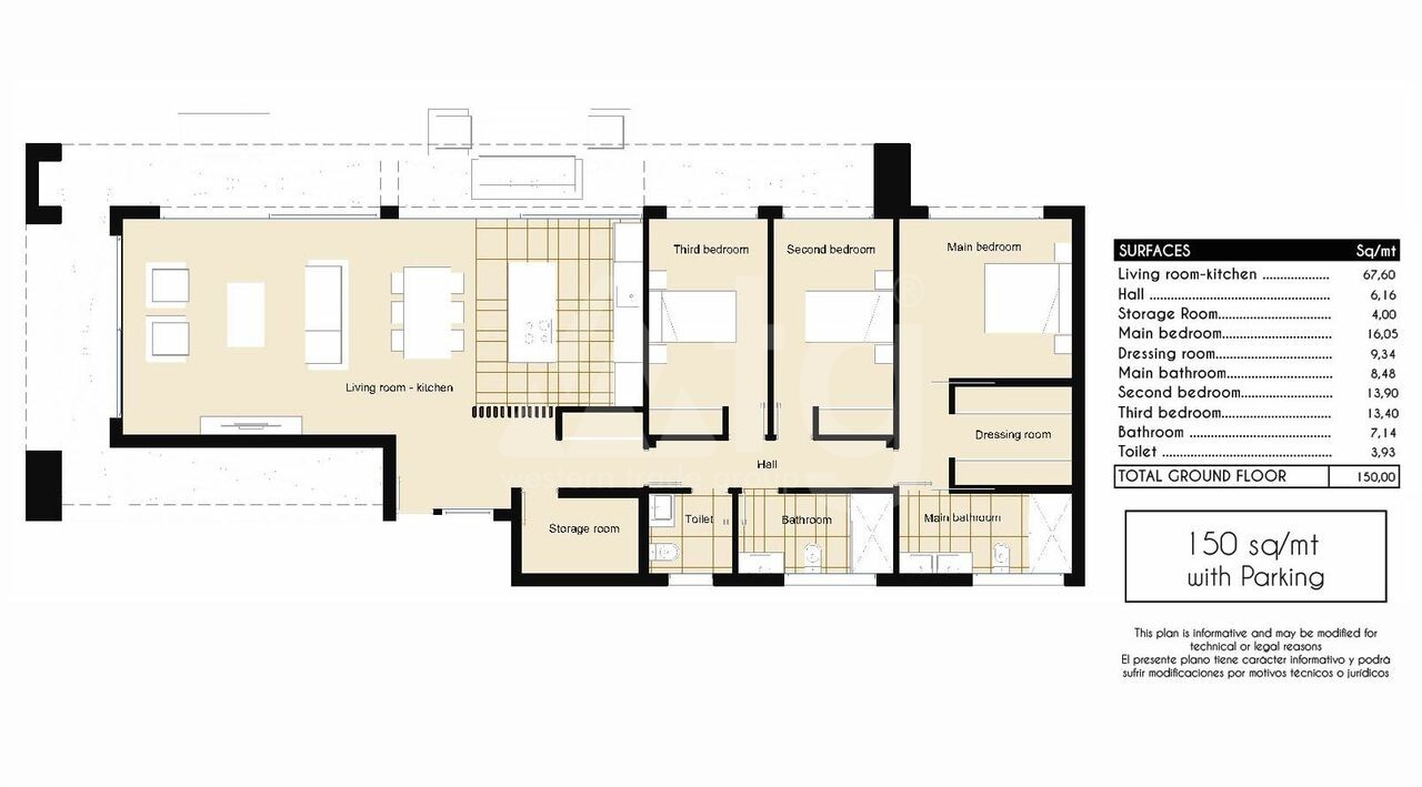 2 bedroom Apartment in Torrevieja - AG4331 - 6