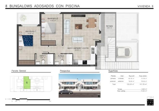 2 bedroom Penthouse in San Pedro del Pinatar  - GU114778 - 24