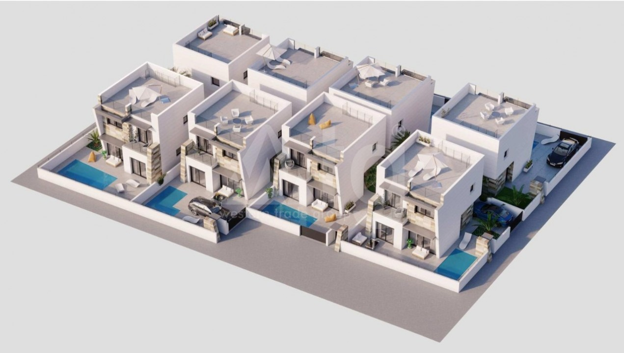 3 bedroom Penthouse in Villajoyosa  - AG9059 - 2