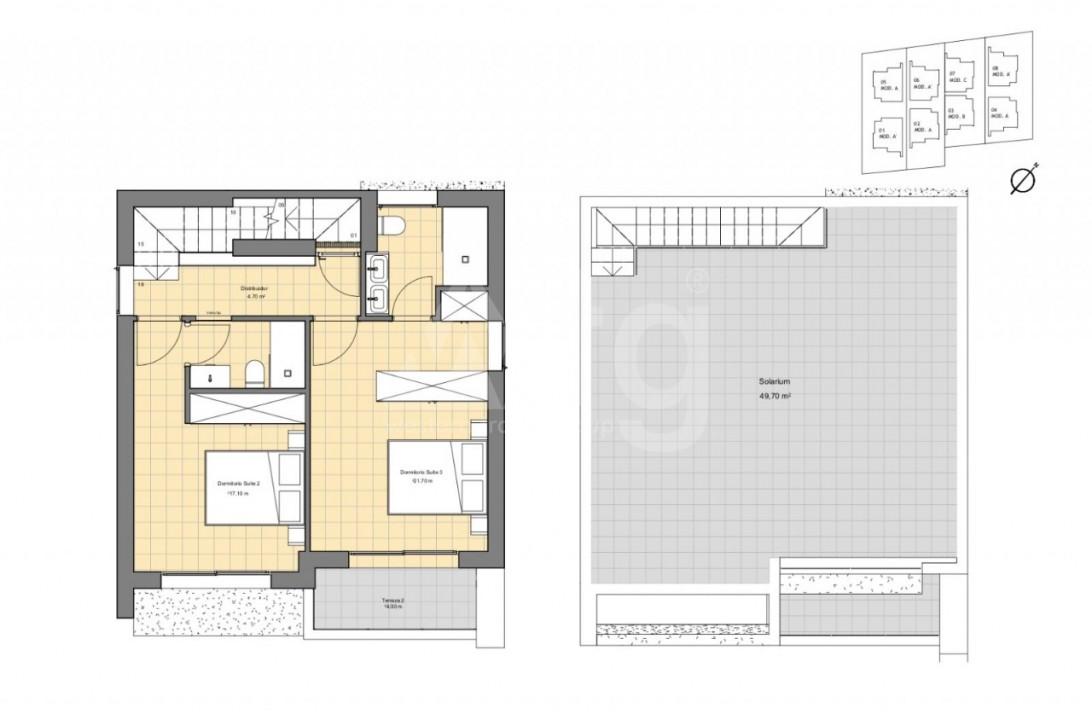 3 bedroom Penthouse in Villajoyosa - AG9059 - 4