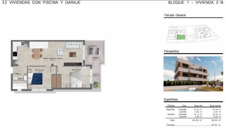 3 bedroom Penthouse in San Javier  - GU114736 - 11