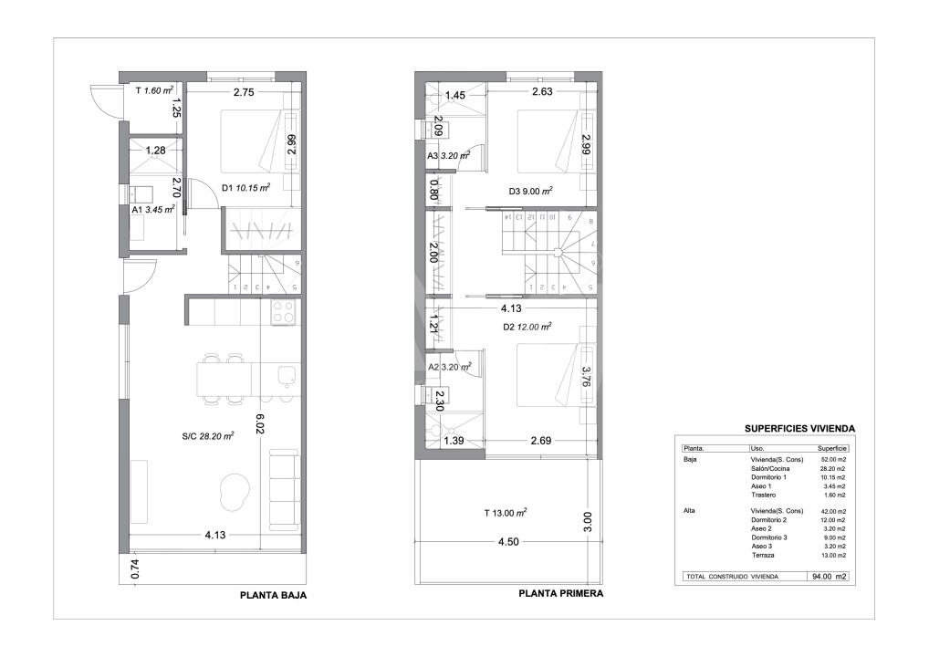 3 bedroom Villa in Rojales - ER7079 - 10