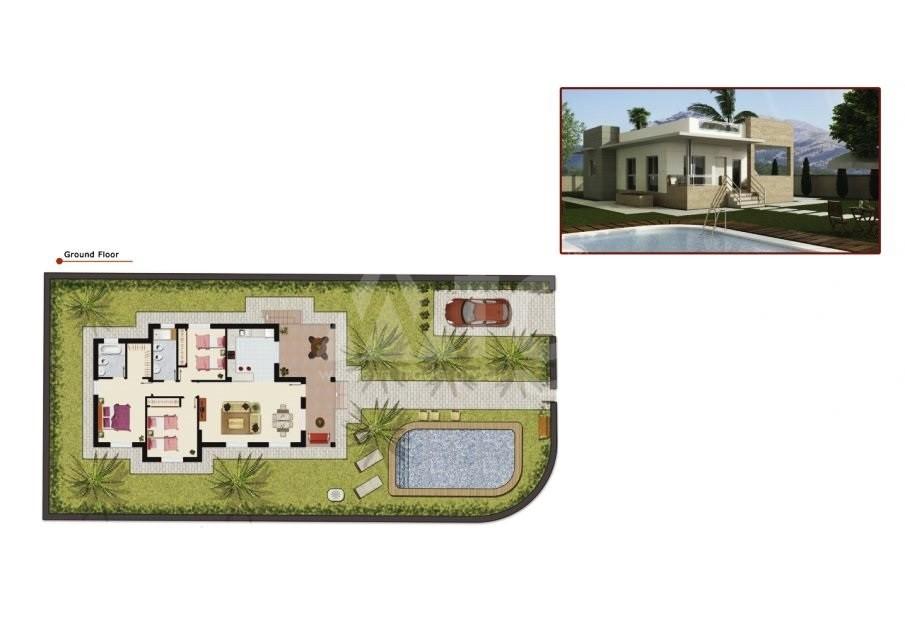 3 bedroom Villa in Ciudad Quesada  - B885 - 14
