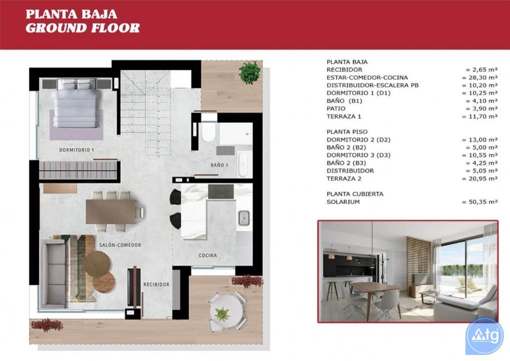 3 bedroom Villa in San Miguel de Salinas - SUN2705 - 24