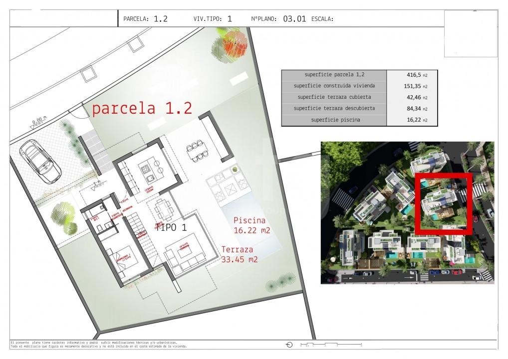 3 bedroom Villa in Los Alcázares - WD2465 - 15