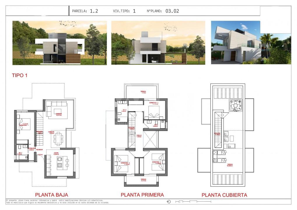 3 bedroom Villa in Los Alcázares - WD2465 - 16