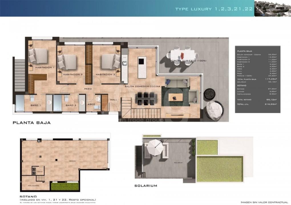 2 bedroom Duplex in Finestrat  - CAM115039 - 10