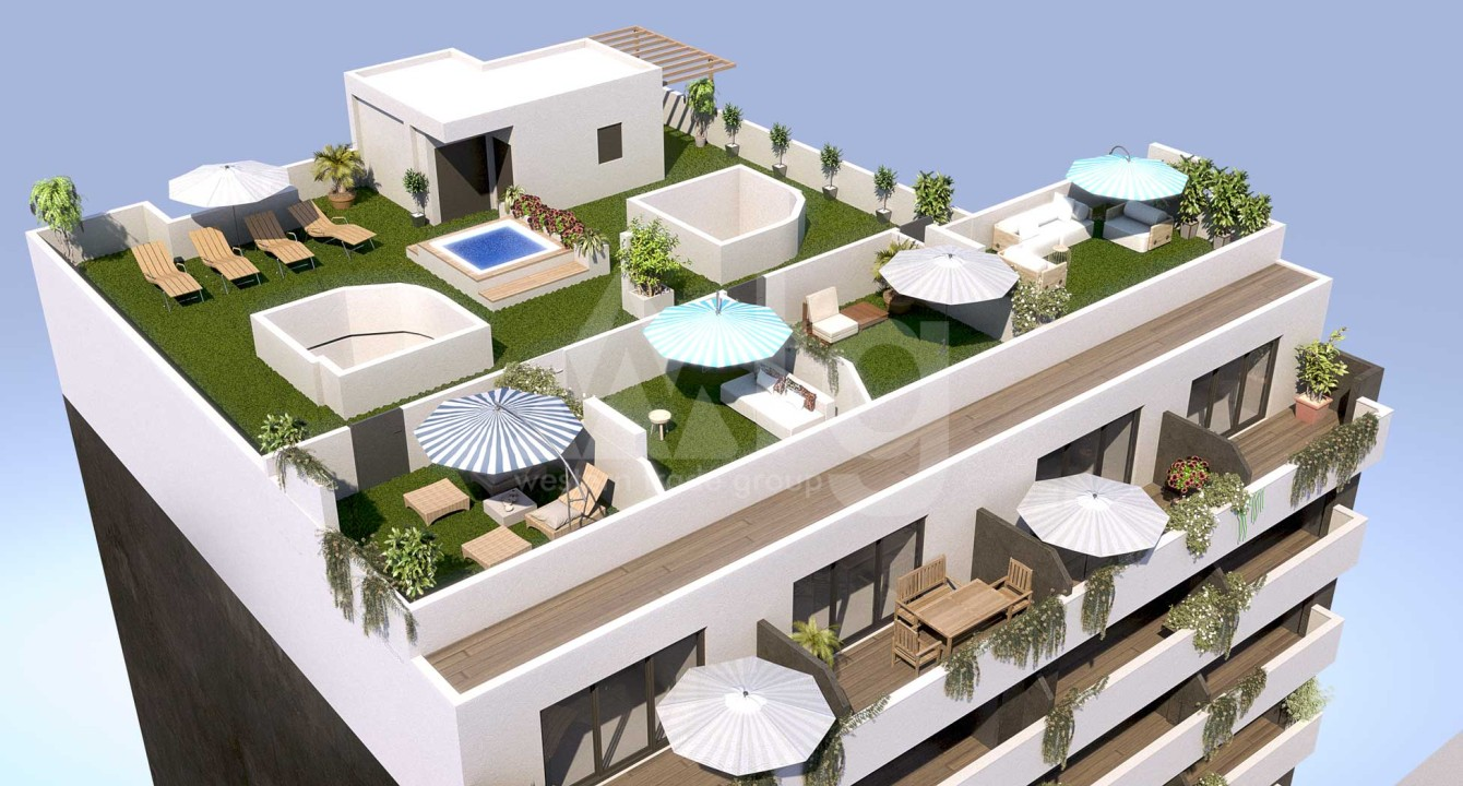 3 bedroom Duplex in Santa Pola  - GMA119008 - 12