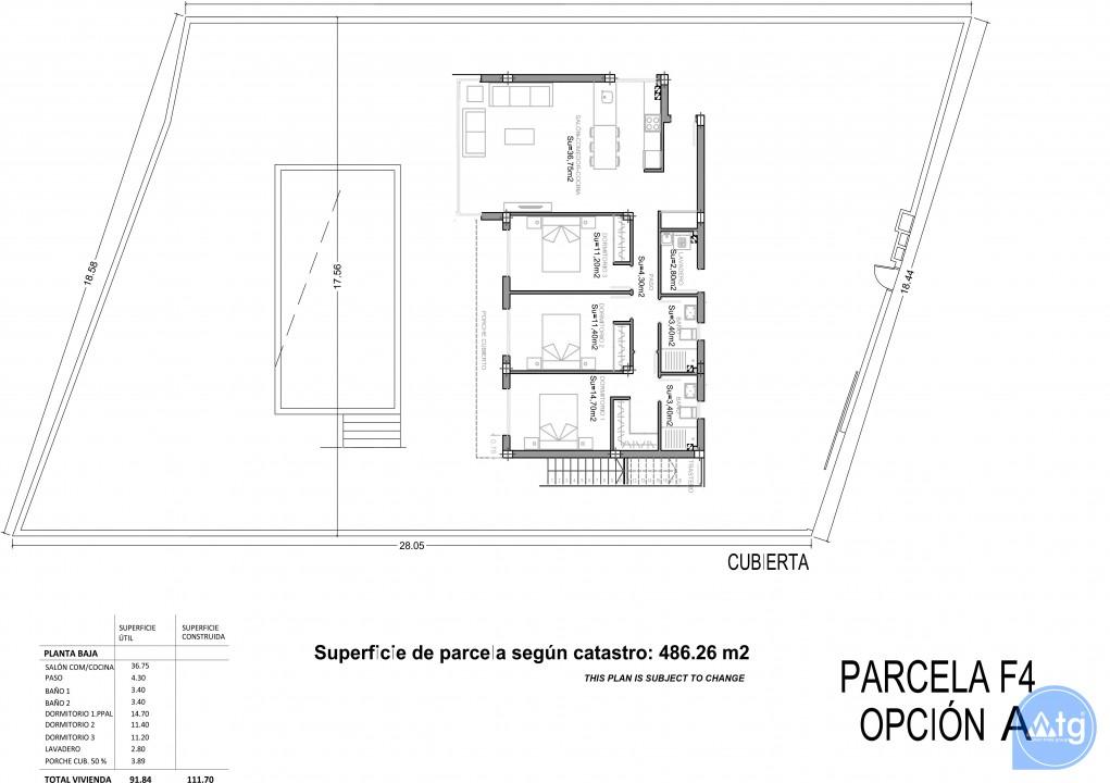 3 bedroom Apartment in Punta Prima - GD6303 - 3