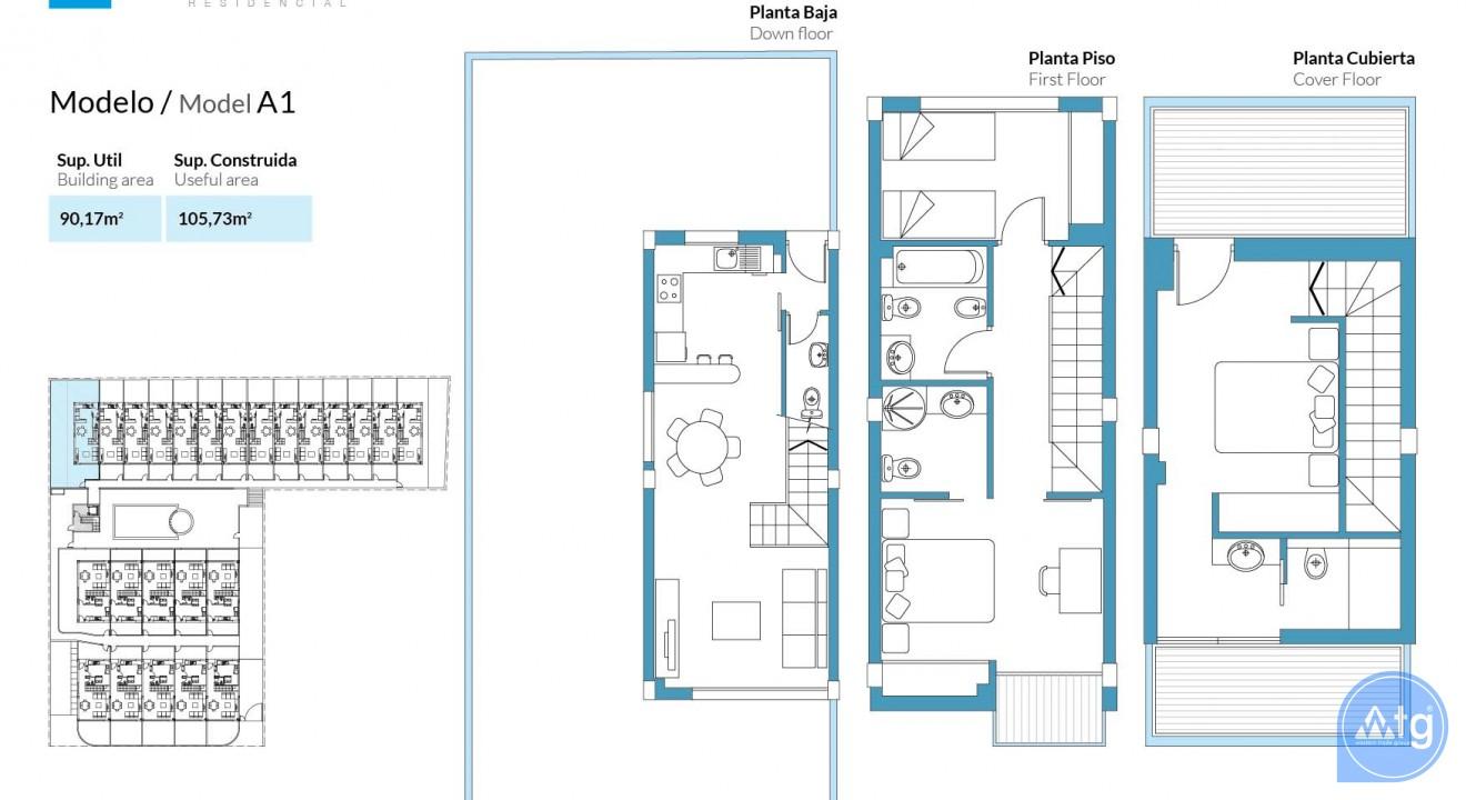 3 bedroom Duplex in Santa Pola  - GMA119006 - 46